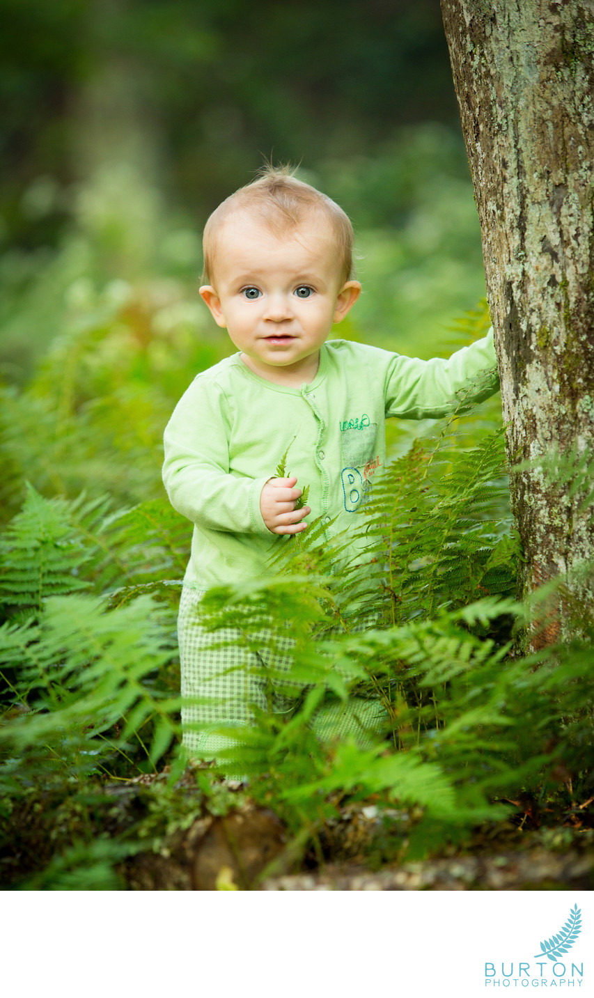 Blowing Rock Baby Portrait