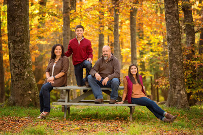 Family Photographer MacRae Meadows Linville
