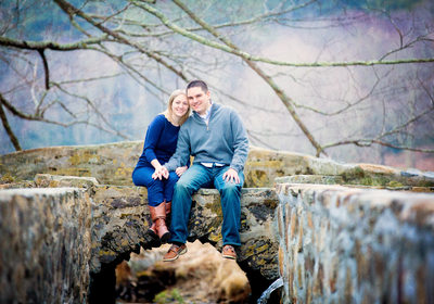 Blowing Rock Family Portrait Couple