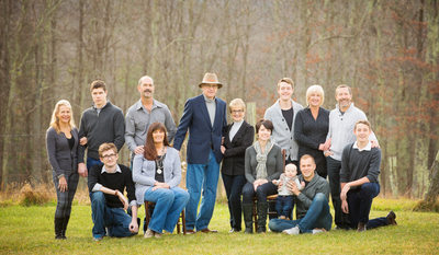 Family Portrait Banner Elk Late Fall/Winter