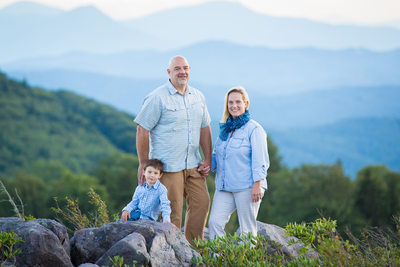 Boone Family Photographer at Grayson Highlands
