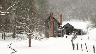 Boone Scenic Photographer Snow Cabin