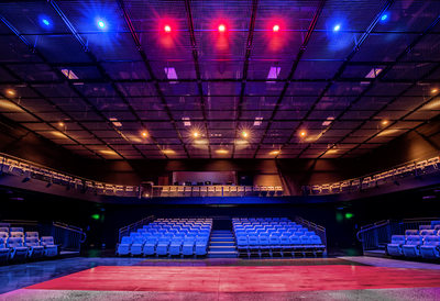 Architectural Photographer Boone Theater Interior