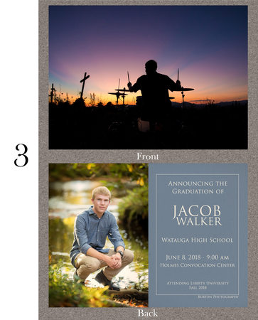 Watauga High School Graduation Announcement 2018