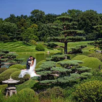 Chicago Botanic Garden Wedding Photos