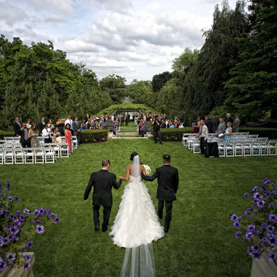 Cantigny Park Outdoor Wedding
