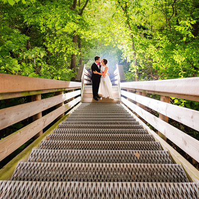 outdoor wedding at starved rock