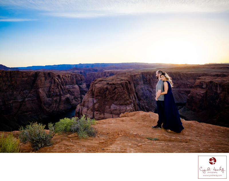 Engagement Photography at Horseshoe Bend