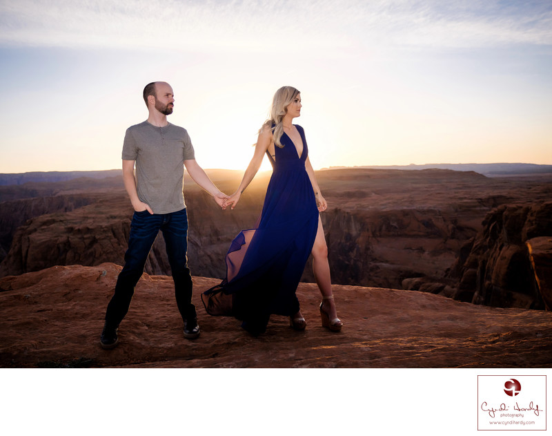 Fashion Style Engagement Photography Page Photographer