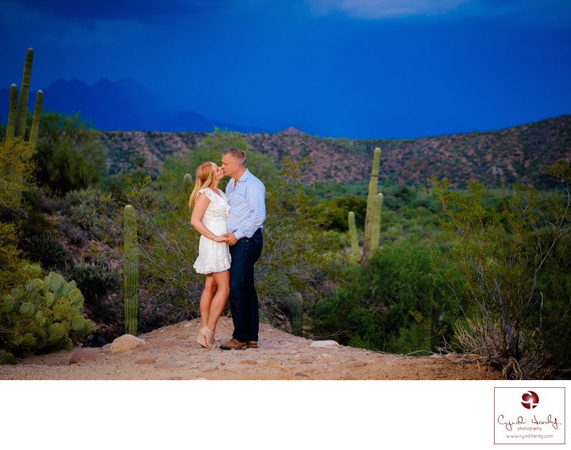 Desert Engagement Scottsdale Engagement Photographers