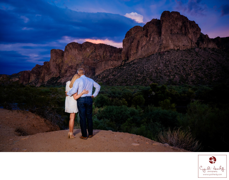Best Scottsdale Engagement Photographers
