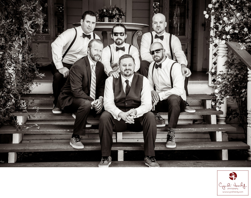 Groomsmen wedding and San Marcos photographer
