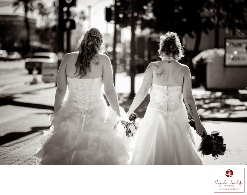 Same Sex wedding photos Scottsdale