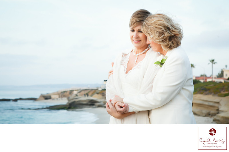 Same Sex Wedding Photographer La Jolla