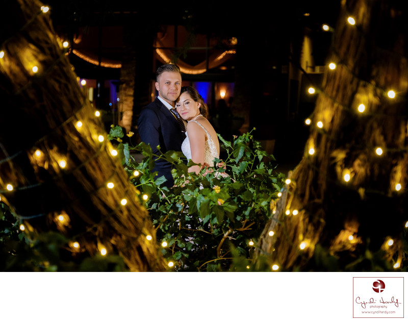 Night Wedding Photography Phoenix Wedding Photographer