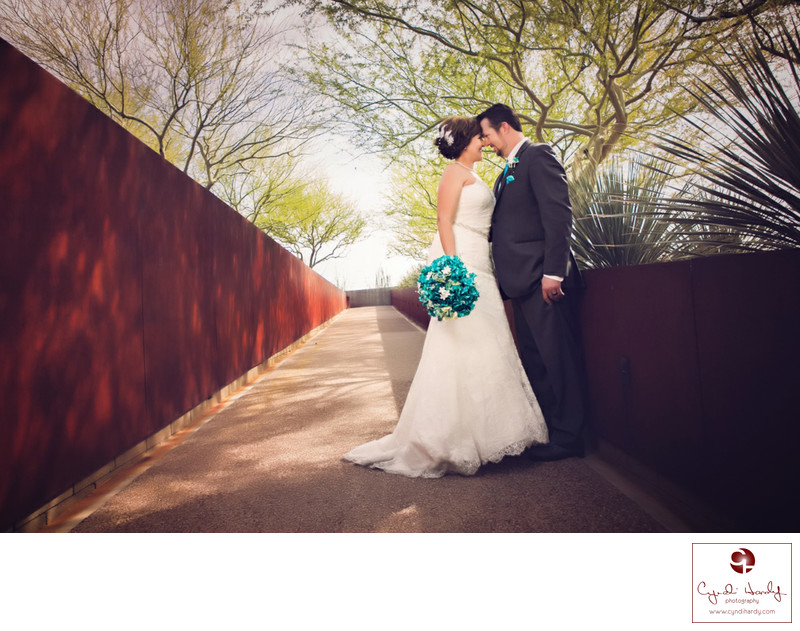 Artistic Phoenix wedding photographer