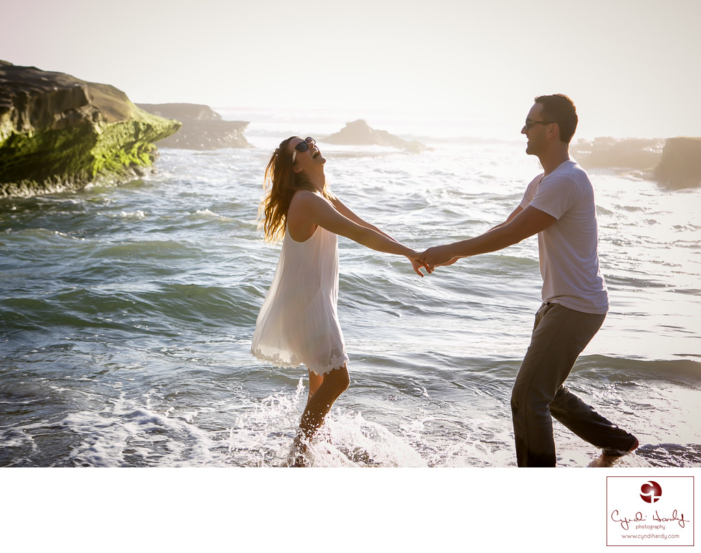 Candid Engagement Photo San Diego Photographer