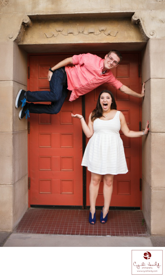 Quirky Engagement Photography Phoenix Engagement