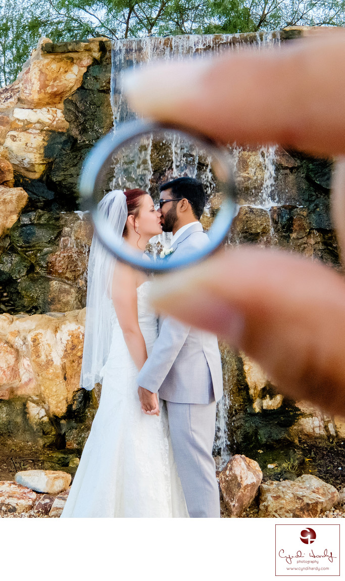Creative Phoenix wedding photos