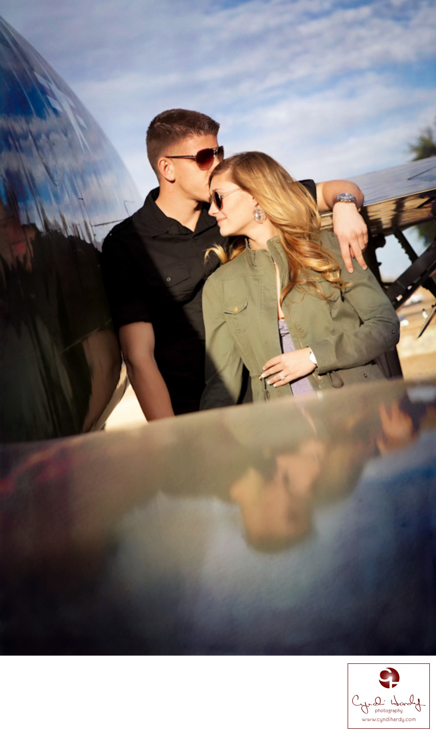 Air Force Engagement Litchfield Park Photographer