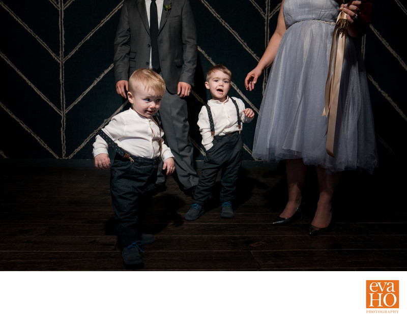 Ring Bearers at The Dawson in River North