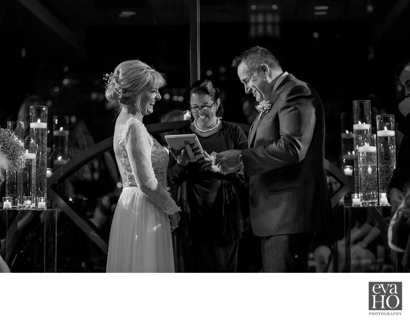 Candlelite Wedding Ceremony at The Thompson Chicago