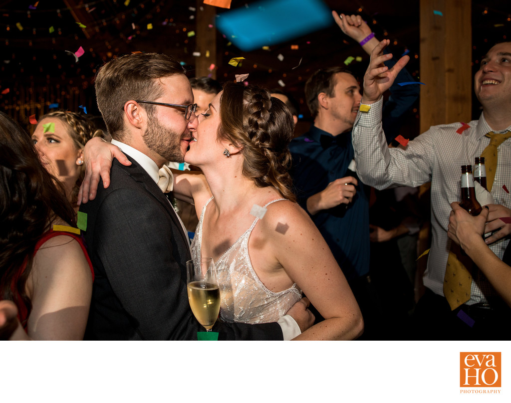 Celebrate New Year's Eve Wedding with Confetti