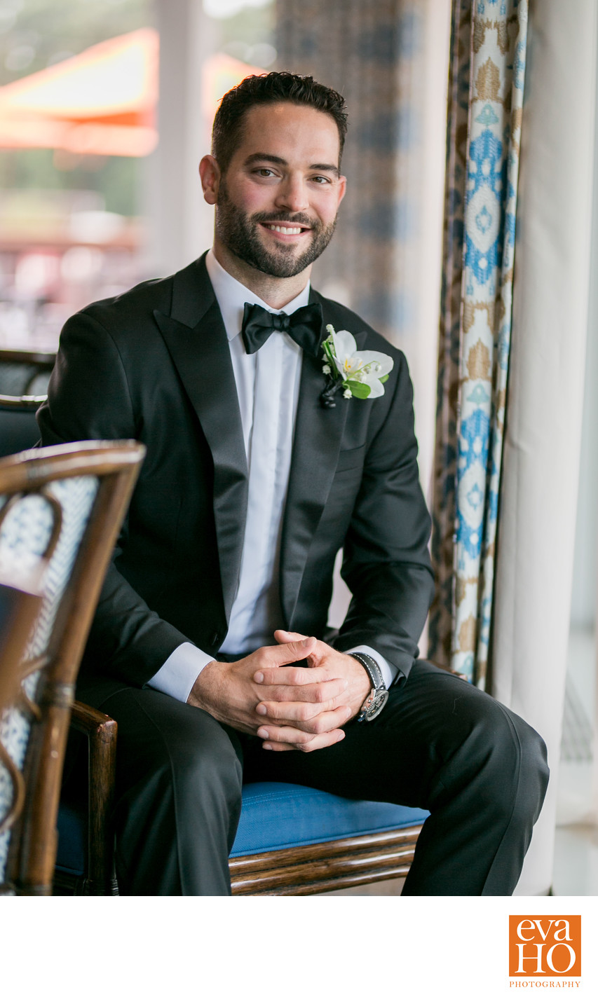 Brandon Bollig on His Wedding Day