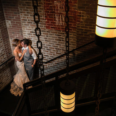 Night Time Wedding Photo at Viper Alley in Lincolnshire