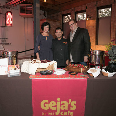Staff at Geja Cafe in Lincoln Park Chicago