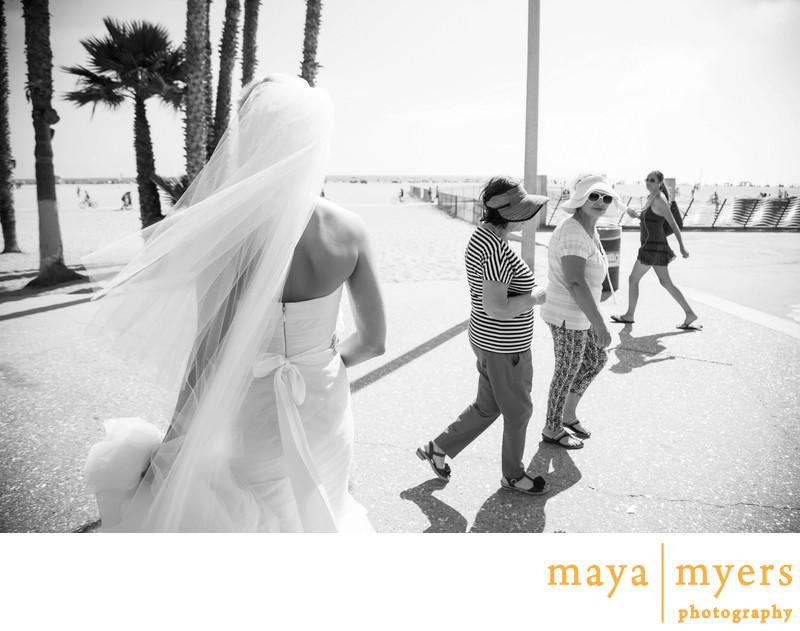 Santa Monica Pier Wedding Photography