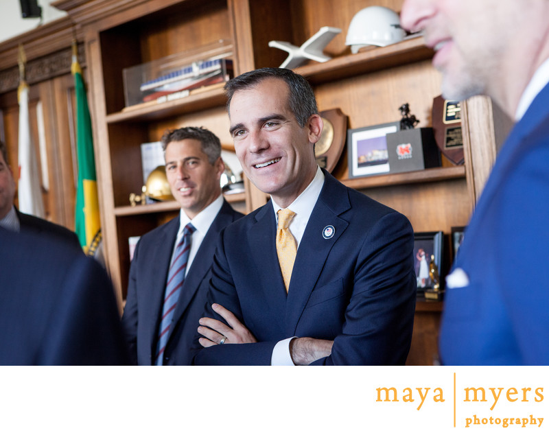 Mayor Garcetti Photogra