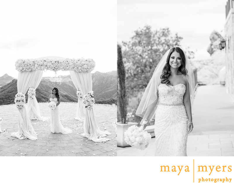 Bridal Portrait Photogapher Malibu Rocky Oaks