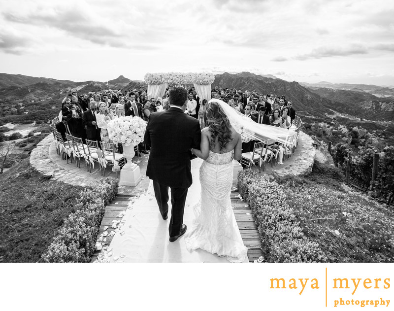 Malibu Rocky Oaks Wedding Photographs