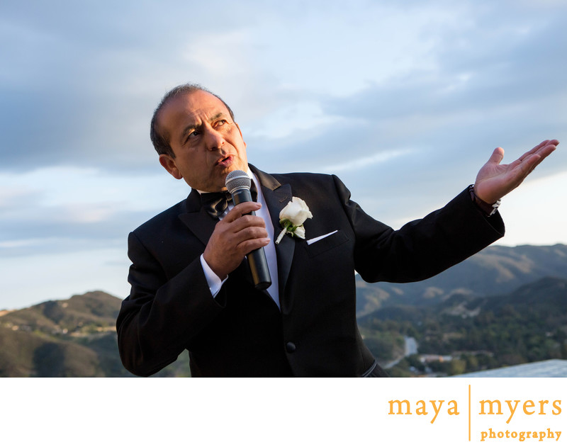 Malibu Rocky Oaks Wedding Toasts