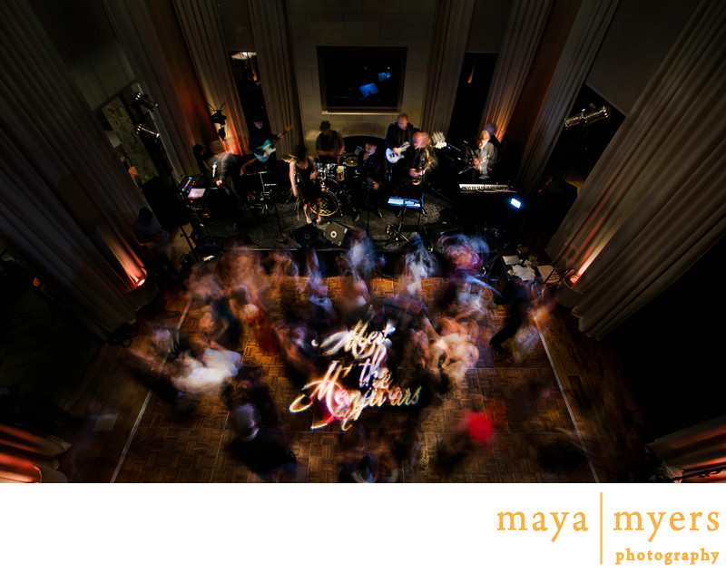 Wedding Logo Gobo Reception Los Angeles