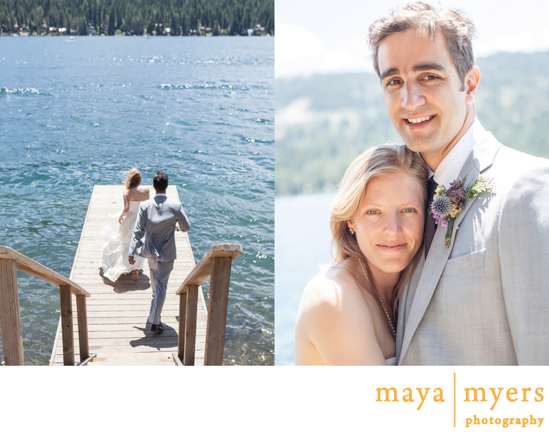Lake Tahoe Destination Wedding Portraits