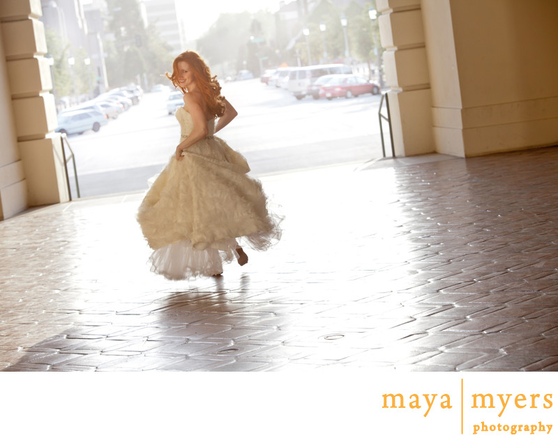 Pasadena Town Hall Wedding Photographer