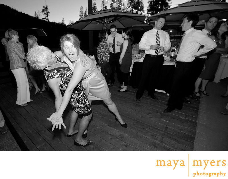Sugarbowl Lodge Wedding Reception Photography