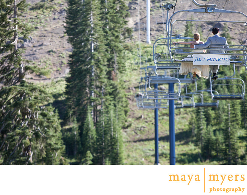 Ski Lift Portraits Lake Tahoe