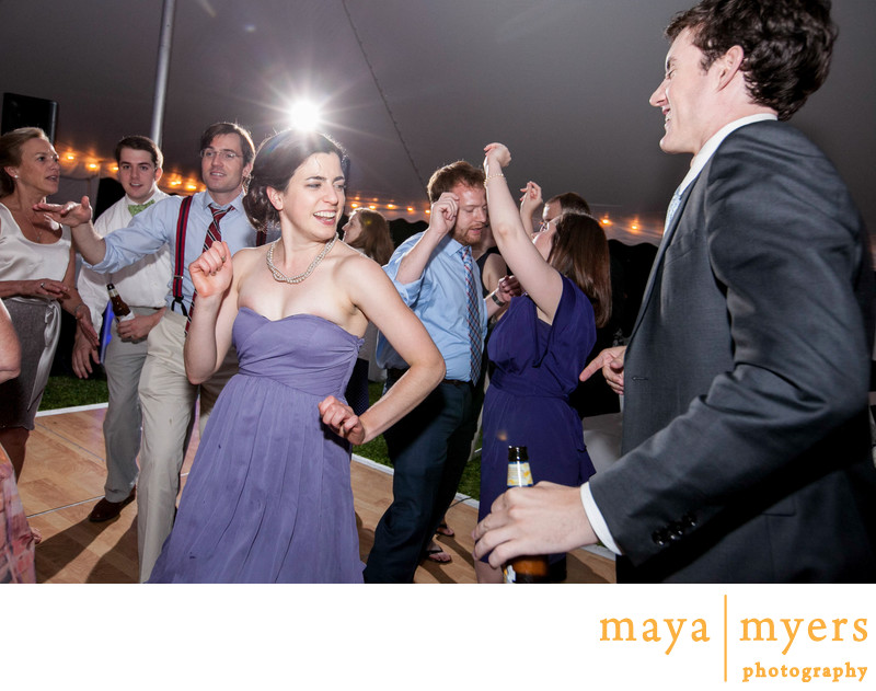 Outdoor Dancing at Weddings New York