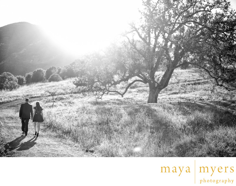 Malibu Creek State park engagement session