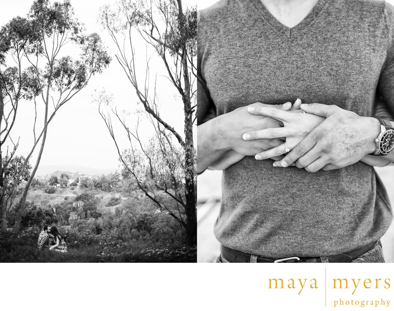Elysian Park engagement session photographer