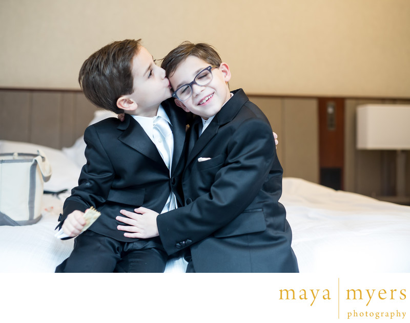 Best man kids at formal weddings New York