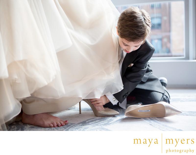 Manolo blahnik wedding shoes new york city joanna and eddie park manolo blahnik wedding shoes new york city junglespirit Choice Image