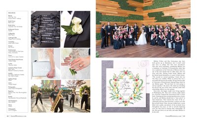 Summer Wedding at the William Vale and Weylin B Seymour