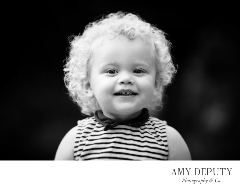 Black & White Children Portraits in Baltimore & DC