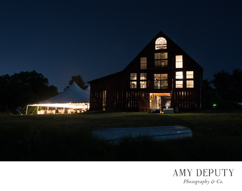 Hurricane Irene Barn Wedding Photographer