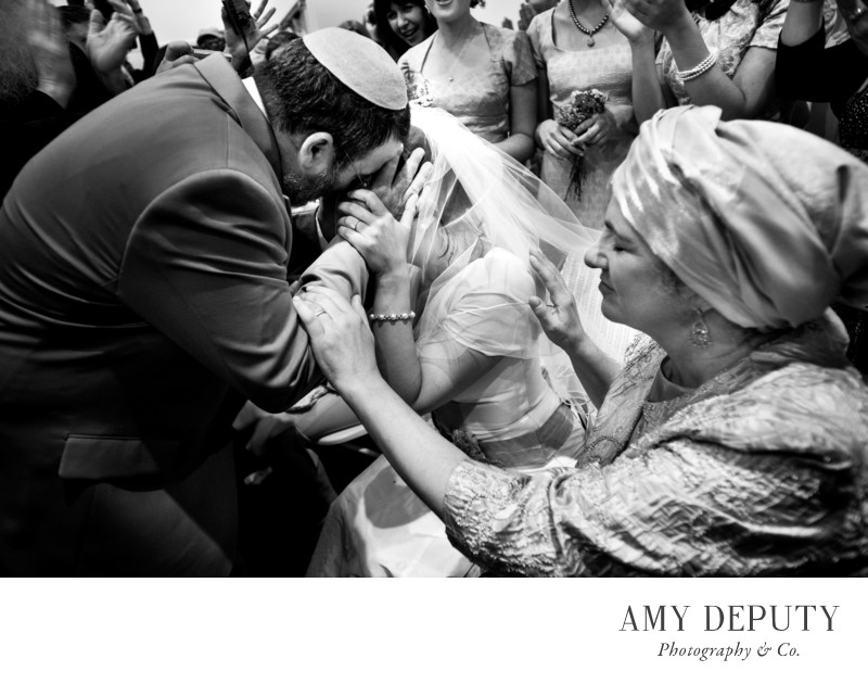 Baltimore Jewish Wedding Photographers