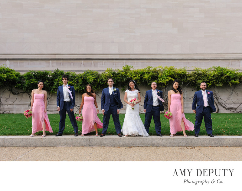 Washington DC Wedding Party Photography